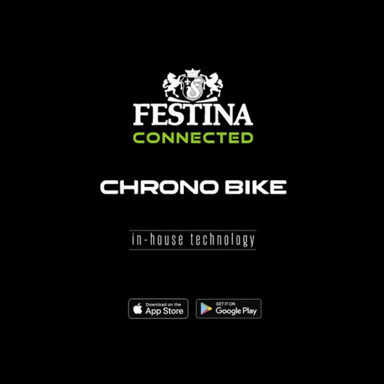 Festina Connected saját dedikált applikációja