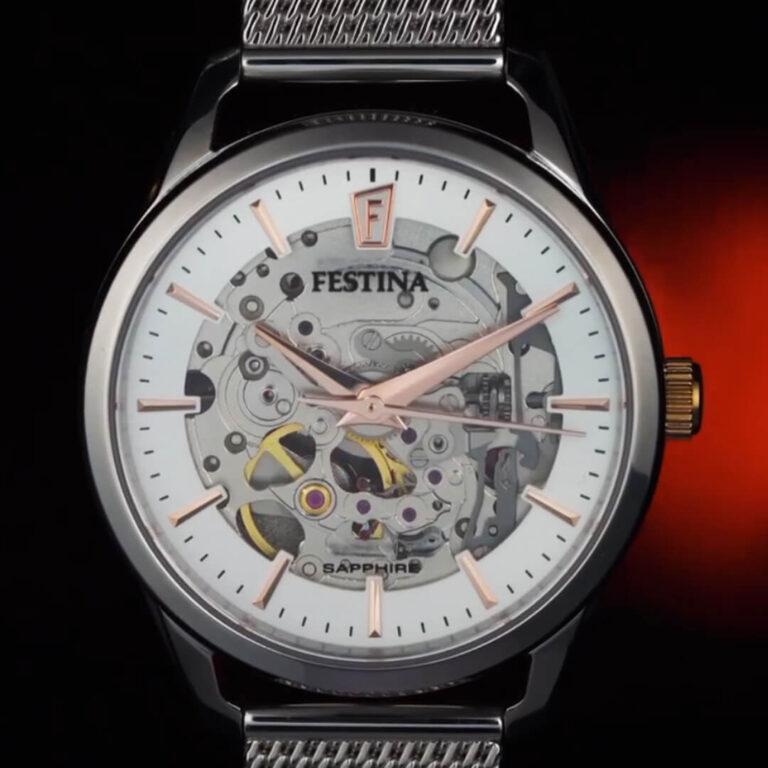 Festina F20538/1 (Automatic - Skeleton)